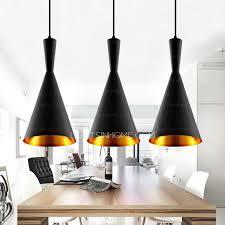 light black color shade vintage kitchen italian pendant lights