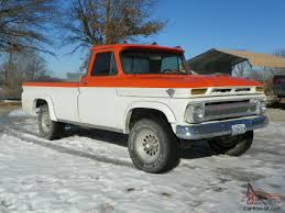 1965 GMC Truck...4X4...4 Speed...454...This Is A Head Turner...