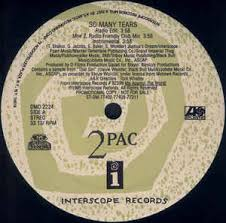 Tupac Shed So Many Tears Remix by 2pac So Many Tears Vinyl At Discogs