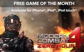 get modern combat 4 zero hour for free courtesy of ign ios hacker