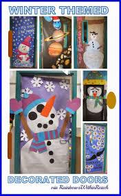 Kindergarten Christmas Door Decorating Contest by 139 Best Classroom Door Decorations Images On Pinterest