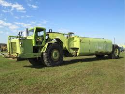 100 Euclid Truck TS24 Scraper Converted Into A Water Truck Earthmoving