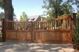 custom cedar fence gate designs allied fence