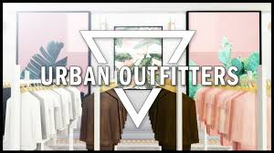 SIMS 4 URBAN OUTFITTERS CLOTHING STORE CC LIST