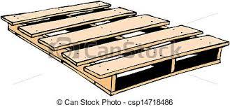 Wood Pallet Clipart 1