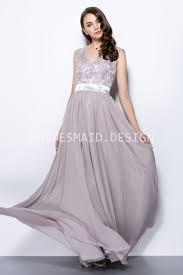 Cap Sleeve Bridesmaid Dresses Floor Length by Vintage Lace Cap Sleeve A Line Long Chiffon Bridesmaid Dress