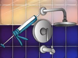 Sinking In The Bathtub Youtube by How To Quickly Repair Bathroom Shower Tiles 6 Steps