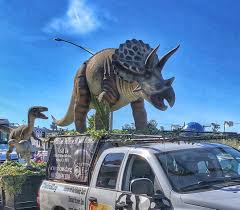 100 Dinosaur Truck Try To See A Triceratops On Top Of A Truck S
