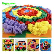 Happyxuan 4pcs Lot 235235 Cm Large DIY Tissue Paper Art Craft Kits Preschool