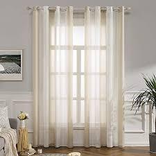 beige transparente gardinen vorhänge und weitere