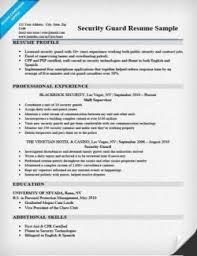 Lifeguard Description Resume