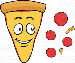 Deconstructed Slice Pepperoni And Cheese Pizza Emoji