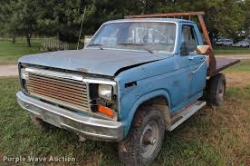 1983 Ford F350 Flatbed Pickup Truck | Item DQ9413 | SOLD! Se...