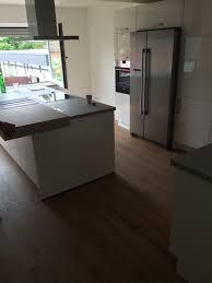kochinsel und side by side kühlschrank küche planen küche