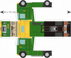 100 Trucks Paper Free Download Model TrailerCotrex DioramasModels