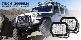 Details About 2X 7inch 5D Square LED Driving Light Bar Spot Flood Combo  Offroad Boat Truck SUV Flood Beam Fog Lights Suv Utv Atv Auto Truck 4wd 5 Inch 72 Watts Led Light Bar Waterproof 10800 Lms Pot 6000k Color Temperature Driving 4inch 18w Cree Spot Offroad Pods 4wd Lamp Work Bulb For Pickup Jeep Toyota Hilux Revo Dual Cab White 66886 Superior Customer Vehicles Trucklite China 24inch 120w 12v Ute Honzdda 1pc Flush Mount Led Car 18w Ip67 Boat Atv Utv12v 24v Lightin Barwork From Inch 72w Roof Vehicle Searchlight Cool Details About Square Spotlight 1224v Camp Uk 7580 Buy Now Pair 6x4 45w 6led Led Lamps With Coverin Assembly 90w 4d Lens Osram Driving Lights 400w 52 Curved Tractor 4x4 Combo Strip Bracket