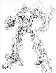 Transformer Coloring Pages 2453