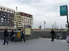 metro denis porte de front populaire métro de wikipédia