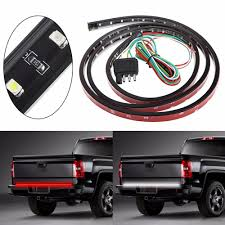100 Truck Suv 2019 49 SUV Tailgate Light Bar LED RedWhite Reverse Stop