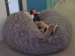 Fancy Big Bean Bag Bed 63 For Your Living Room Decoration Ideas With