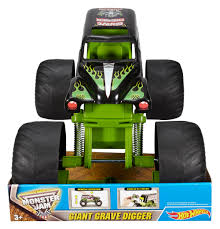 Hot Wheels Monster Jam Giant Grave Digger Vehicle 7091323984361 | EBay Hot Wheels Monster Jam Mega Air Jumper Assorted Target Australia Maxd Multi Color Chv22dxb06 Dashnjess Diecast Toy 1 64 Batman Batmobile Truck Inferno 124 Diecast Vehicle Shop Cars Trucks Amazoncom Mutt Dalmatian Toys For Kids Travel Treds Styles May Vary Walmartcom Monster Energy Escalade Body Custom 164 Giant Grave Digger Mattel