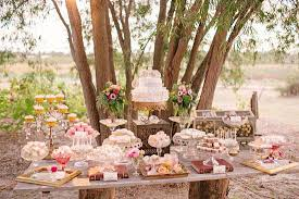 Awesome Outdoor Wedding Dessert Table Ideas 20