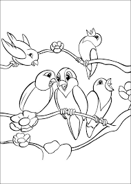 Animal Coloring Pages Birds