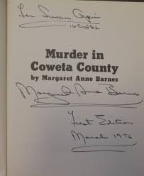 Murder In Coweta County By Barnes, Margaret Ann: Readier's Digest ... Barnes Janae Anne Februymarch 2017 Issue Of Inside New Orleans By Anne Barnes Anbarnes23 Twitter Schwannoma Survivors Fighters A Q And With Dr Little Mix Signs Copies Of Their Second Studio Album Rice And Christopher Book Signing For Sallyanne Sallyanbarnes James Place On The Sly Productions Llc Princess Ghost Walk Chesapeake Walks Grey Sundae Gemma Killer Instinct From Bring It Youtube