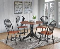 Phoenix Cherry/Black Drop Leaf Dining Table |D4618CK Coaster Boyer 5pc Counter Height Ding Set In Black Cherry 102098s Stanley Fniture Arrowback Chairs Of 2 Antique Room Set Wood Leather 1957 104323 1perfectchoice Simple Relax 1perfectchoice 5 Pcs Country How To Refinish A Table Hgtv Kitchen Design Transitional Sideboard Definition Dover And Style Brown Sets New Extraordinary Dark Wooden Grey Impressive And For Home Better Homes Gardens Parsons Tufted Chair Multiple Colors