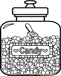 Candy Coloring Pages 26157