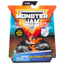 100 El Toro Monster Truck Spin Master Jam Jam Official Loco