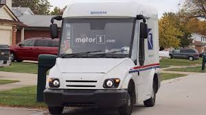 100 Usps Delivery Truck AM Generals Entry For Next Mail Carrier Spied Testing
