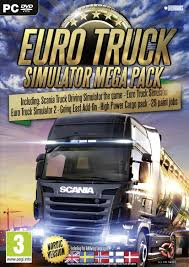 Amazon.com: Euro Truck Simulator - Mega Pack (PC DVD) (UK IMPORT ...