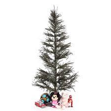 Vickerman Slim Flocked Christmas Tree by Vickerman Vienna Twig 6 U0027 Green Slim Artificial Christmas Tree