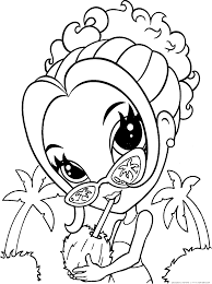 Good Lisa Frank Printable Coloring Pages With And