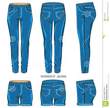 Womens Dress Pants Clipart 1