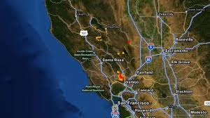Napa Pumpkin Patch by Napa Earthquake Charted On Seismic Activity Map Abc7 Com