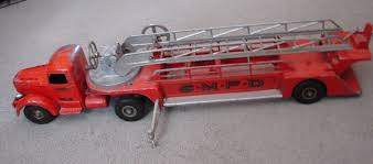 Vintage 1950's SMITH MILLER FIRE TRUCK, Ladder Truck, Mack Truck ...