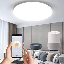 smart led deckenleuchte 18w 1800lm wifi dimmbar led