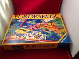 Image Is Loading Rare Vintage German Europareise Ravensburger Board Game 1980