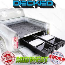 100 Truck Bed Storage System Decked Fits 20072017 Toyota Tundra 67