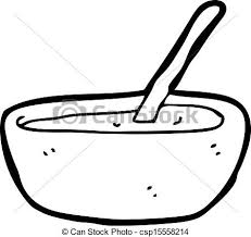 Cartoon soup bowl vector clip art Search Illustration Drawings