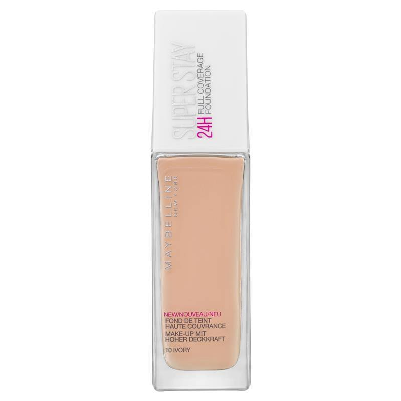 Maybelline Superstay 24 hour Foundation - 10 Ivory, 30ml