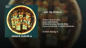 schumann cuisine lied op 29 no 2