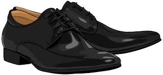 Black Men Shoes PNG Clipart