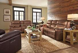 Flexsteel Fenwick Leather Power Reclining Sofa