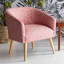 Crescent Moon Barrel Accent Chair By Drew Barrymore Flower ...