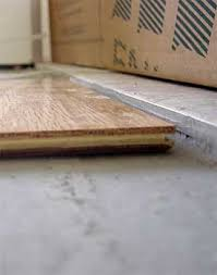 floor leveling on concrete preparation uneven floors