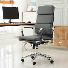 roundhill furniture modica contemporary high back office desk