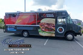 Apollo Burgers Food Truck $176,000 | Prestige Custom Food Truck With ...